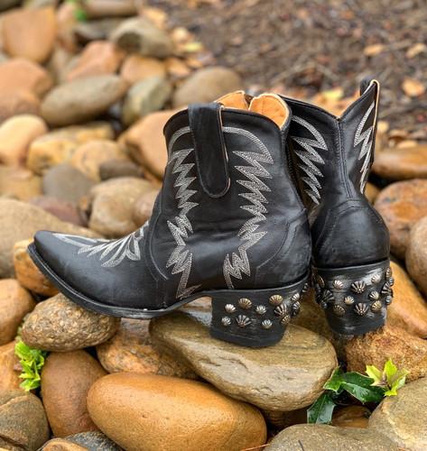 Old Gringo Moreen Short Black BL2939-5 Heel