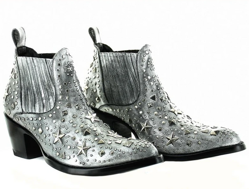 Old Gringo Metal Star Boots Silver BL3323-3 Picture