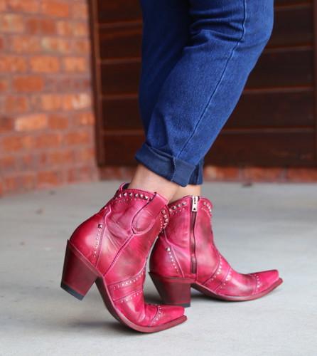 Yippee by Old Gringo Natasha Pink Boots YBL433-3 Heel