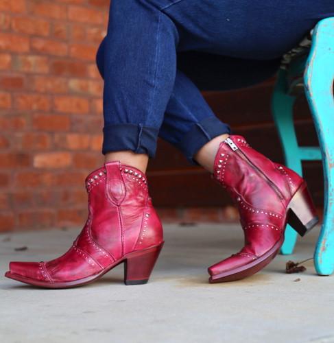 Yippee by Old Gringo Natasha Pink Boots YBL433-3 Image