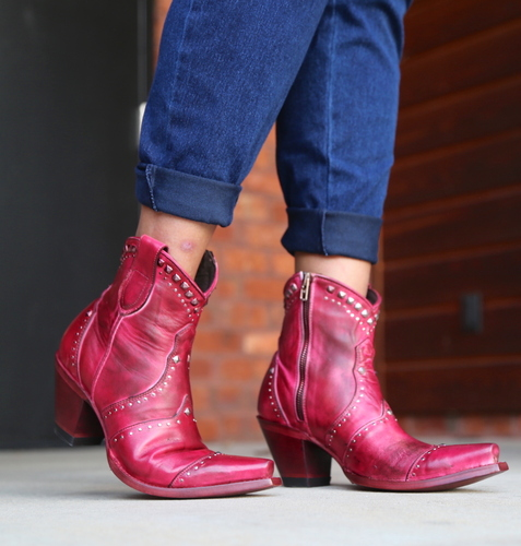 Yippee by Old Gringo Natasha Pink Boots YBL433-3 Picture