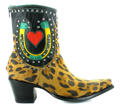 Double D by Old Gringo Jungle Jim Boots DDBL057-1 Image