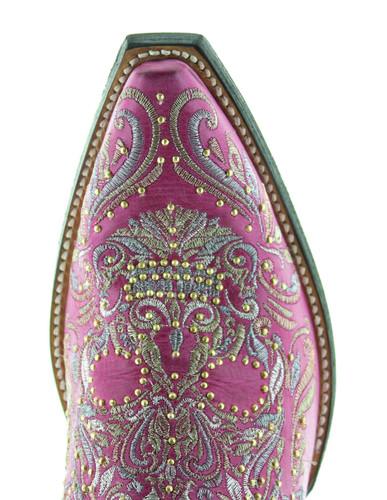 Old Gringo Dulce Calavera Boots Pink BL3233-5 Photo
