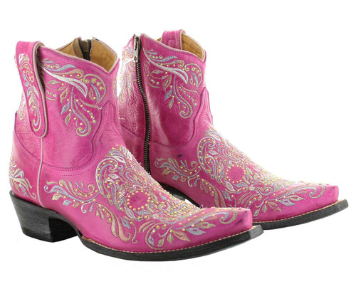 Old Gringo Dulce Calavera Boots Pink BL3233-5 Picture