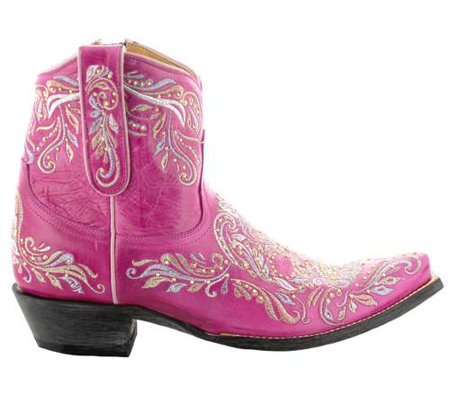 Old Gringo Dulce Calavera Boots Pink BL3233-5 Image