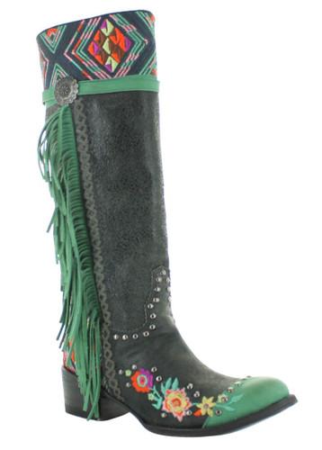 Double D by Old Gringo Dream Weaver Black Boots DDL078-2 Photo