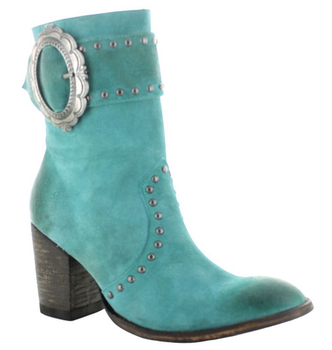 Double D by Old Gringo Segovia Turquoise Boots DDBL080-1 Photo