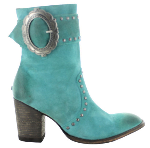 Double D by Old Gringo Segovia Turquoise Boots DDBL080-1 Image
