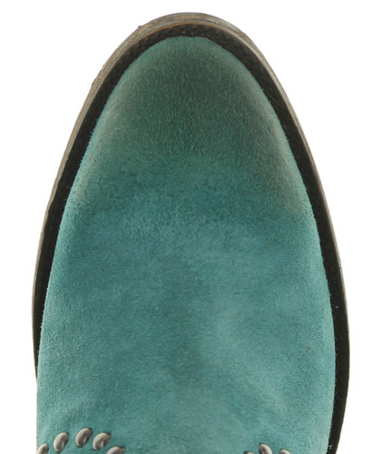 Double D by Old Gringo Segovia Turquoise Boots DDBL080-1 Toe