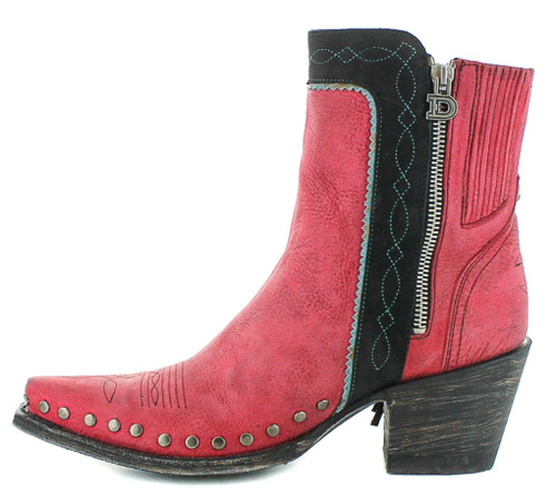 Double D by Old Gringo Apache Kid Red Boots DDBL018-4 Photo