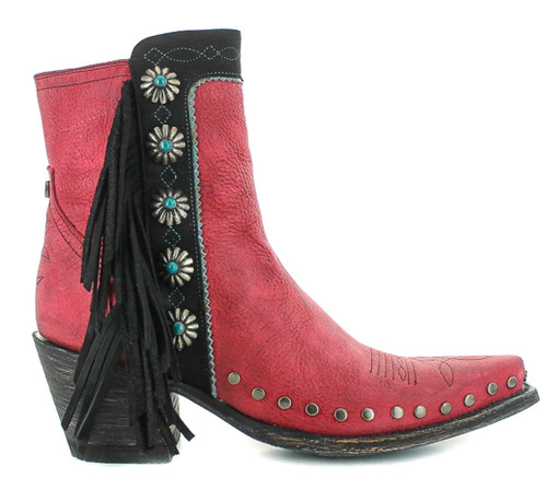 Double D by Old Gringo Apache Kid Red Boots DDBL018-4 Image