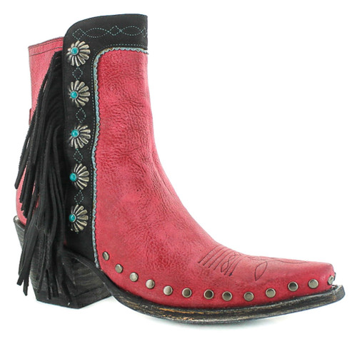 Double D by Old Gringo Apache Kid Red Boots DDBL018-4 Picture