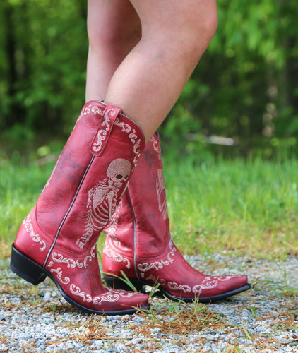 Yippee by Old Gringo Selfie Red Boots YL348-3 Photo
