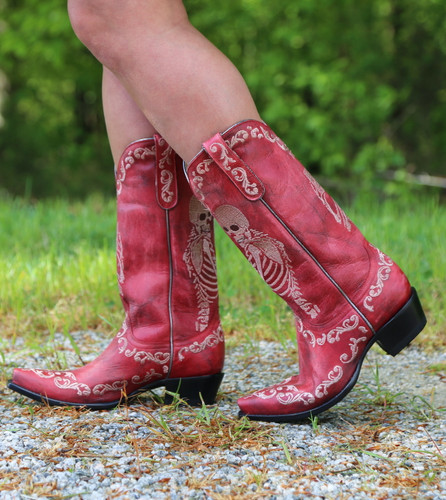 Yippee by Old Gringo Selfie Red Boots YL348-3 Walk