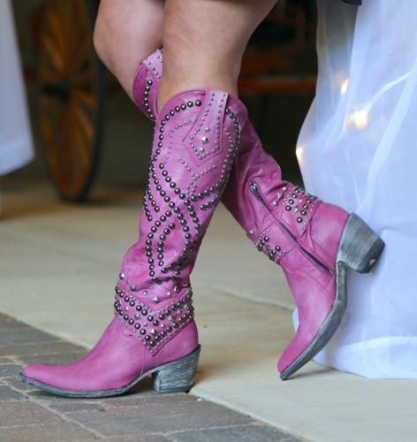 Old Gringo Belinda Pink Boots L903-39 Image