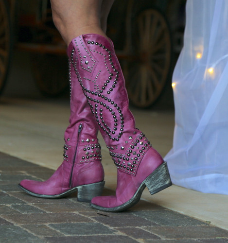 Old Gringo Belinda Pink Boots L903-39 Photo