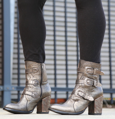 Old Gringo Addison Metallic Gold Boots BL3340-1 Picture