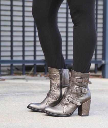 Old Gringo Addison Metallic Gold Boots BL3340-1 Photo