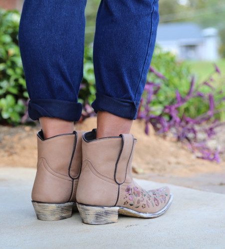 Liberty Black Daisy Toccato Boots SLMFD003 Photo