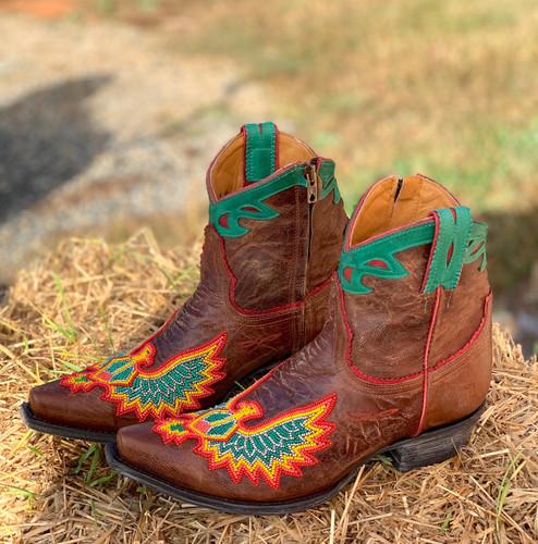 Old Gringo Eagle Beaded Oryx Boots BL3295-4 Image