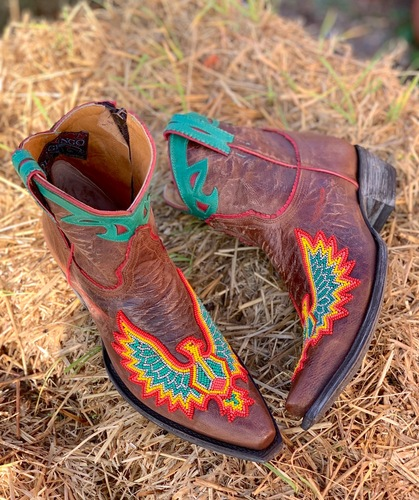 Old Gringo Eagle Beaded Oryx Boots BL3295-4 Picture