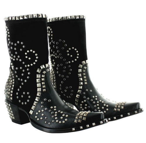 Double D by Old Gringo Conquista Black Boots DDBL074-1 Picture