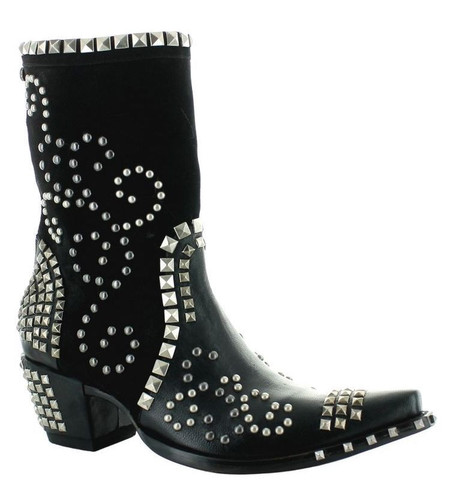Double D by Old Gringo Conquista Black Boots DDBL074-1 Image