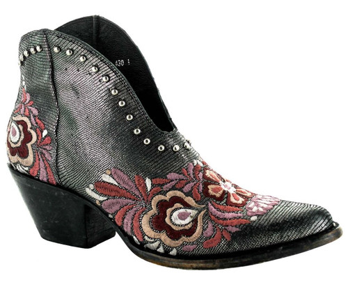 Yippee by Old Gringo Janely Black Pink Boots YBL430-1 Image