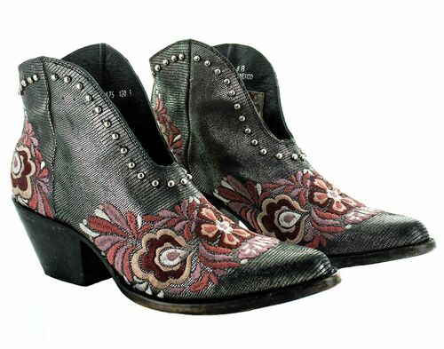 Yippee by Old Gringo Janely Black Pink Boots YBL430-1 Picture