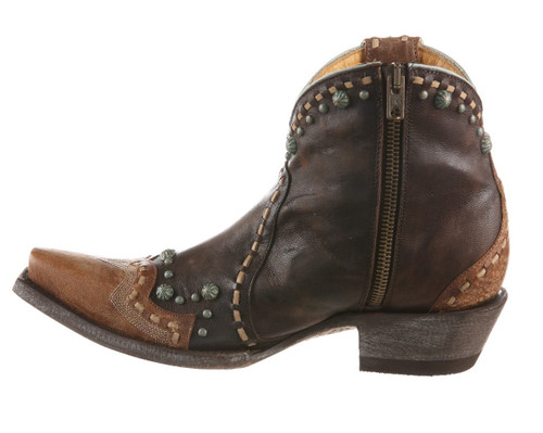 Old Gringo Cherrie Chocolate Oryx Boots BL3315-1 Zipper