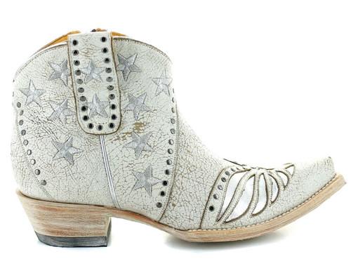 Old Gringo United Short Stud Crackled Taupe Boots BL3337-1 Photo