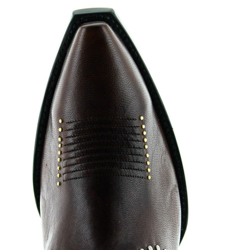 Yippee by Old Gringo Lena Brass Boot YBL425-2 Toe
