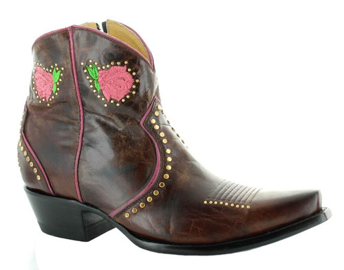 Yippee by Old Gringo Lena Brass Boot YBL425-2 Image