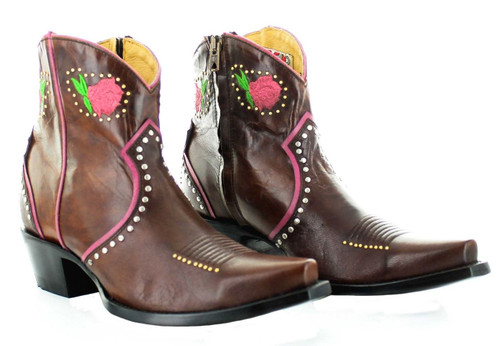 Yippee by Old Gringo Lena Brass Boot YBL425-2 Picture
