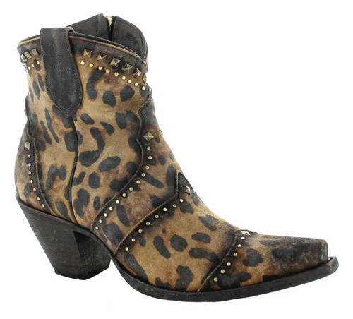 Yippee by Old Gringo Natasha Mustard Cheetah Boots YBL433-1 Image