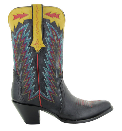 Yippee by Old Gringo Yucatan Triad Black Boots YL445-1 Photo