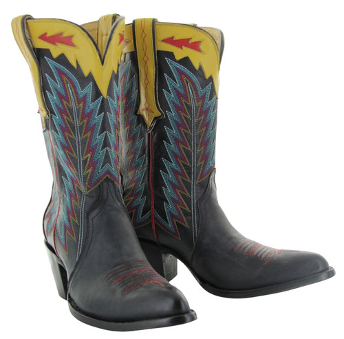 Yippee by Old Gringo Yucatan Triad Black Boots YL445-1 Picture