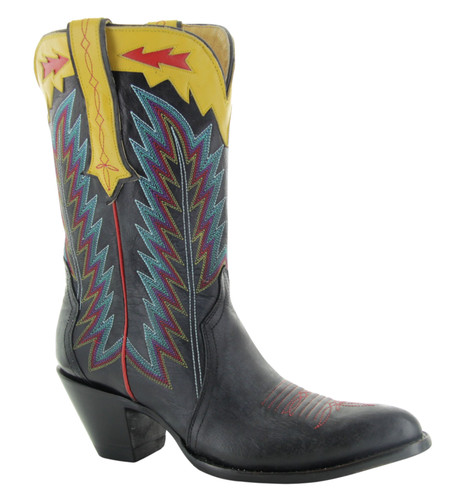 Yippee by Old Gringo Yucatan Triad Black Boots YL445-1 Image