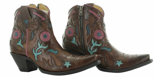 Yippee by Old Gringo Kayla Brass Boots YBL437-1 Picture