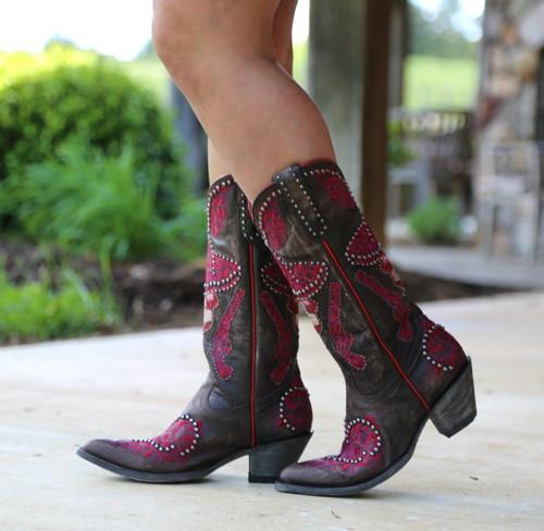 Old Gringo L&L Chocolate Boots L3460-1 Walk
