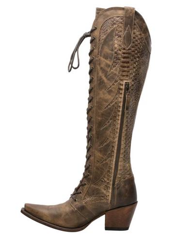 Junk Gypsy by Lane Trail Boss Brownbelly Boots JG0060B Zipper