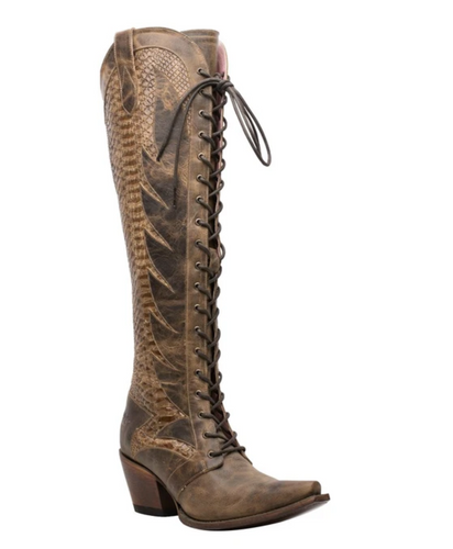 Junk Gypsy by Lane Trail Boss Brownbelly Boots JG0060B Image