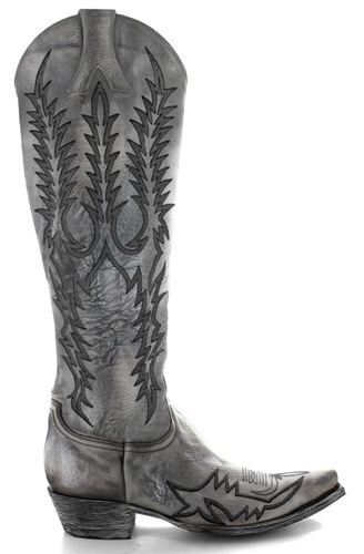 Old Gringo Mayra Bis Caos Grey Boots L1213-43 Picture