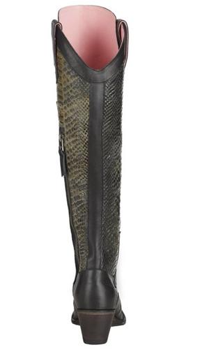 Junk Gypsy by Lane Trail Boss Black Boots JG0060C Heel