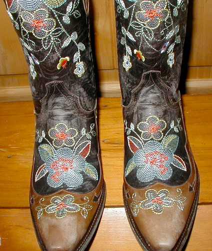 Old Gringo Bonnie Brass Boots L649-1 Toe