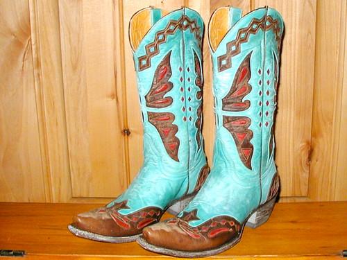 Old Gringo Monarca Aqua Boots L026-37 Main