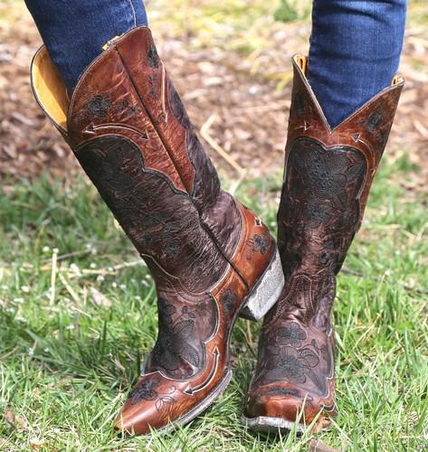 Old Gringo Bonnie Chocolate Boots L696-9