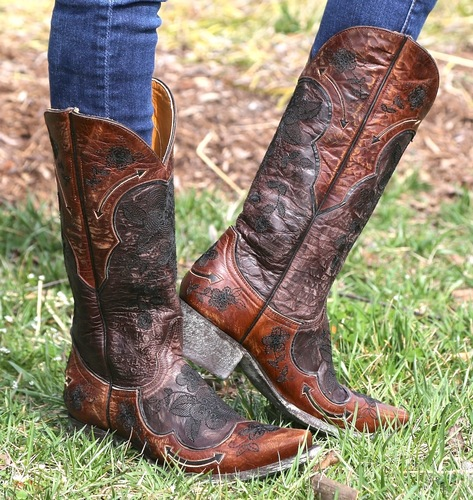 Old Gringo Bonnie Chocolate Boots L696-9 Picture