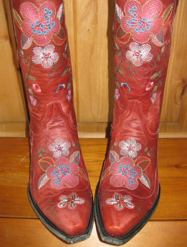 Old Gringo Bonnie Red Boots L649-3 Toe
