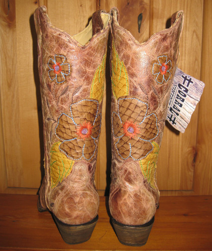 Corral Daisy Boots A2048 Back Picture